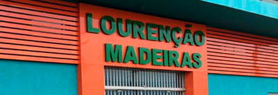 Madeireira Lourenção Logo